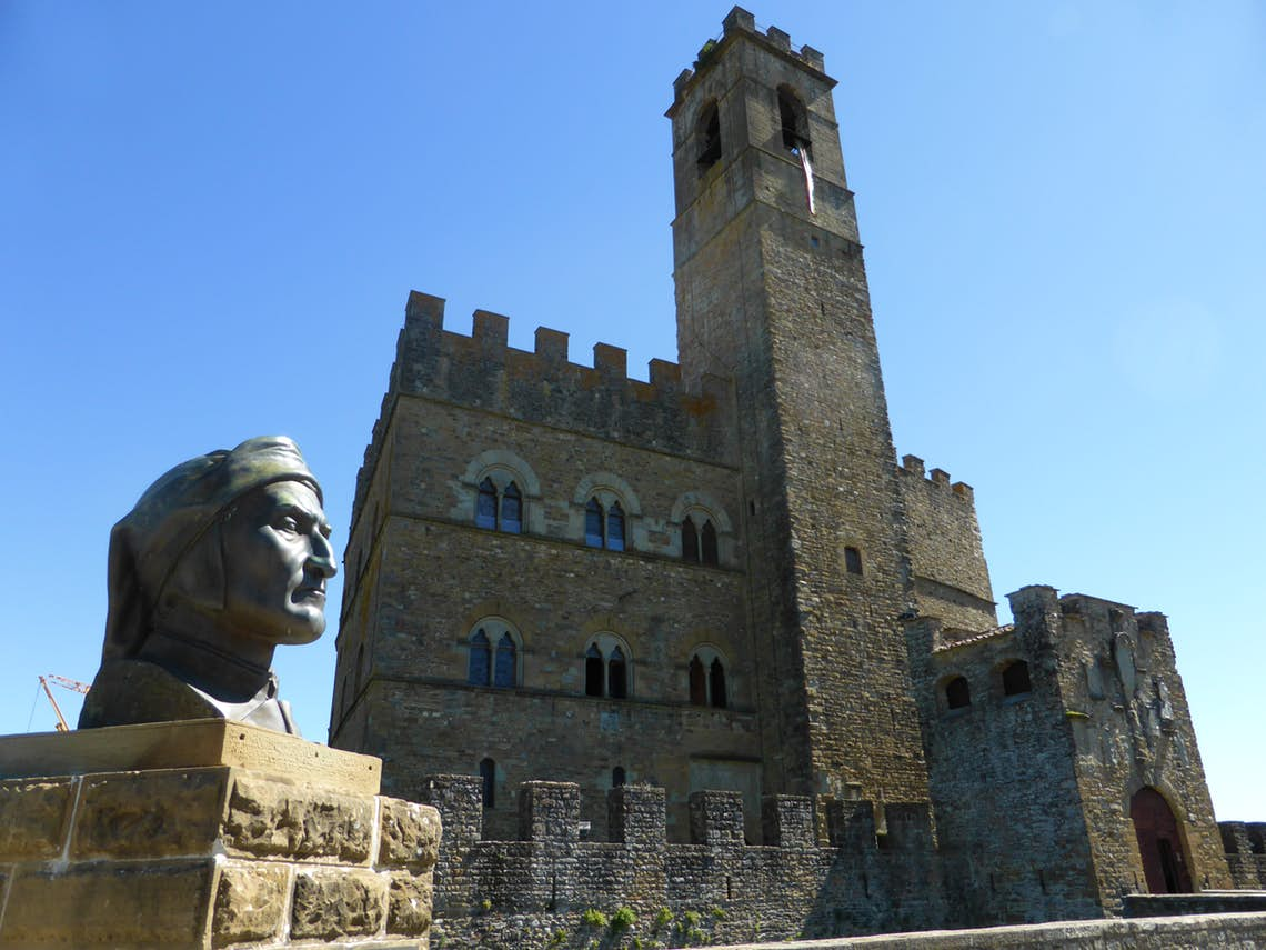 The Guidi Counts' castle